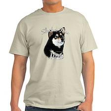 Shiba(blk) Mom2 T-Shirt