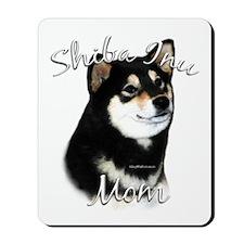 Shiba(blk) Mom2 Mousepad