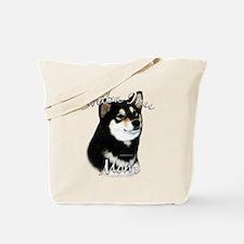 Shiba(blk) Mom2 Tote Bag