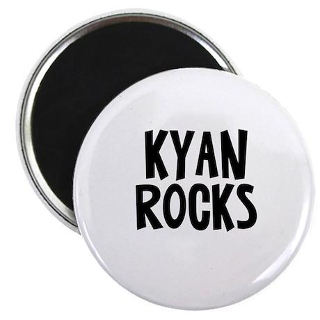 Kyan Rocks Magnet