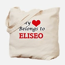 My heart belongs to Eliseo Tote Bag