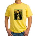 Mona's Catahoula Leopard Yellow T-Shirt
