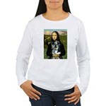 Mona's Catahoula Leopard Women's Long Sleeve T-Shi