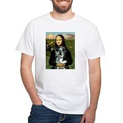 Mona's Catahoula Leopard White T-Shirt