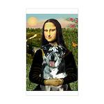 Mona's Catahoula Leopard Sticker (Rectangle)