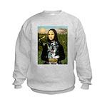 Mona's Catahoula Leopard Kids Sweatshirt
