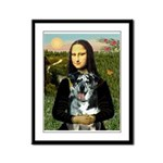Mona's Catahoula Leopard Framed Panel Print