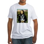 Mona's Catahoula Leopard Fitted T-Shirt