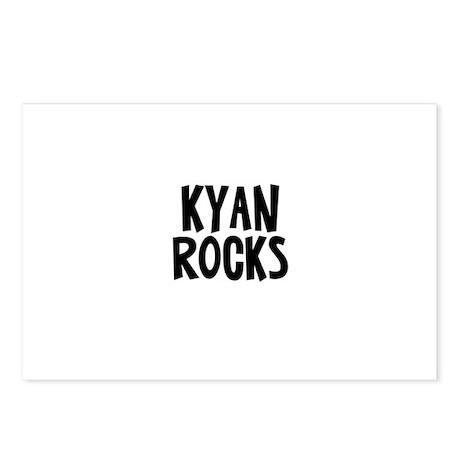 Kyan Rocks Postcards (Package of 8)
