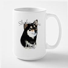 Shiba(blk) Dad2 Mug