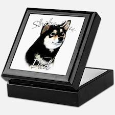 Shiba(blk) Dad2 Keepsake Box