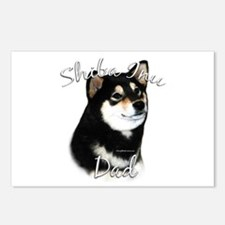 Shiba(blk) Dad2 Postcards (Package of 8)