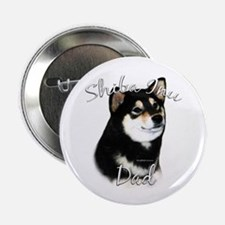 "Shiba(blk) Dad2 2.25"" Button (100 pack)"