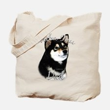 Shiba(blk) Dad2 Tote Bag
