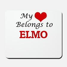 My heart belongs to Elmo Mousepad
