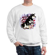 Shiba(blk) Patriot Sweatshirt