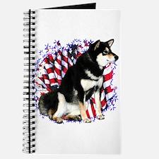 Shiba(blk) Patriot Journal