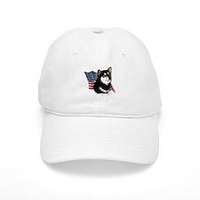 Shiba(blk) Flag Baseball Cap