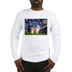 Starry/Puff Crested Long Sleeve T-Shirt
