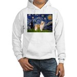 Starry/Puff Crested Hooded Sweatshirt