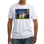 Starry/Puff Crested Fitted T-Shirt