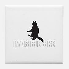 OH HAI!!!1! LOL CATS! INVISIB Tile Coaster
