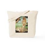 Venus/Puff Crested Tote Bag