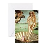 Venus/Puff Crested Greeting Cards (Pk of 10)
