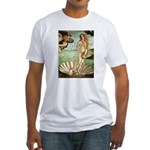 Venus/Puff Crested Fitted T-Shirt