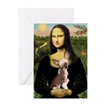 Mona / C Crested(HL) Greeting Card