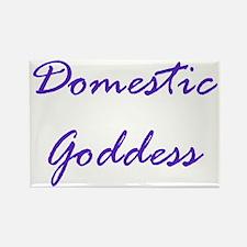 Cute Domestic goddess Rectangle Magnet