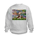 Lilies / C Crested(HL) Kids Sweatshirt