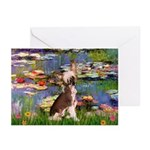 Lilies / C Crested(HL) Greeting Cards (Pk of 20)