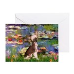 Lilies / C Crested(HL) Greeting Card