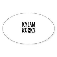Kylan Rocks Oval Decal