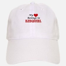 My heart belongs to Ezequiel Baseball Baseball Cap