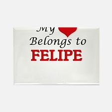 My heart belongs to Felipe Magnets