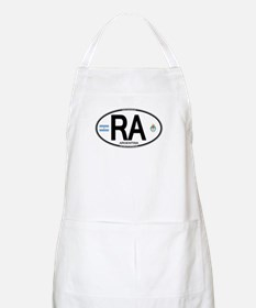 Argentina Euro Oval BBQ Apron