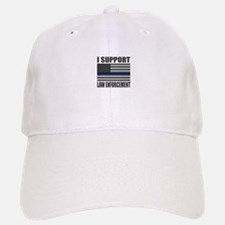 I support law enforcement Baseball Baseball Baseball Cap