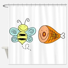 Bee Ham Birmingham Alabama Shower Curtain