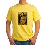 Mona /Chow Chow #1 Yellow T-Shirt