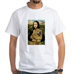 Mona /Chow Chow #1 White T-Shirt