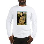 Mona /Chow Chow #1 Long Sleeve T-Shirt
