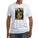 Mona /Chow Chow #1 Fitted T-Shirt