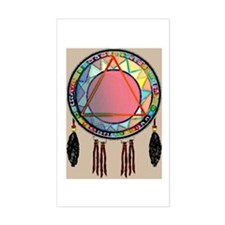 Dreamcatcher Rectangle Decal
