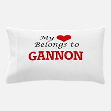 My heart belongs to Gannon Pillow Case