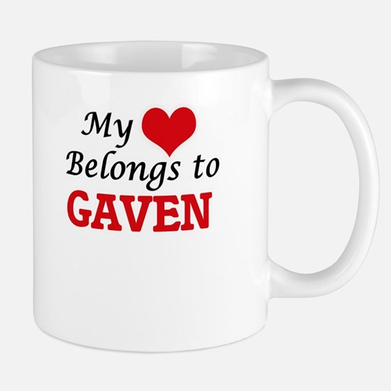 My heart belongs to Gaven Mugs