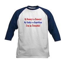 Republican Dad, Democrat Mom Tee
