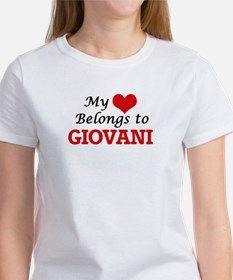 My heart belongs to Giovani T-Shirt