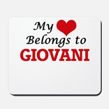 My heart belongs to Giovani Mousepad